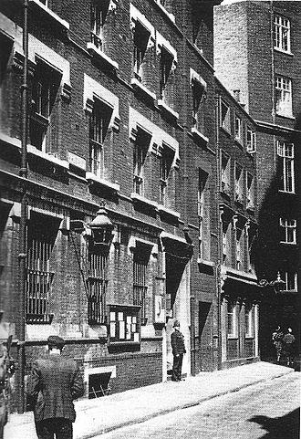Vine Street, London - Vine Street Police Station (now closed)