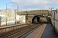 Vintage bridge, Lea Green railway station (geograph 3818908).jpg