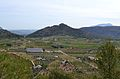 Vista cap al castellet d'Orba des de l'ermita de sant Sebastià de Murla.JPG