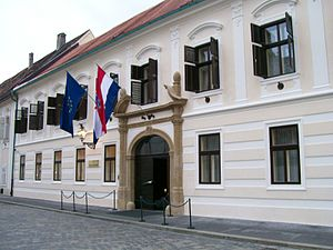 Politics of Croatia - Banski dvori, seat of the Government of Croatia