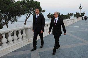 Vladimir Putin in Azerbaijan 13 August 2013-6