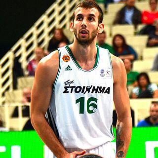 Serbian-Greek professional basketball player