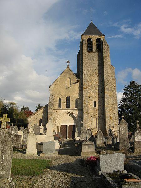 Voisines: église