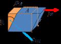 Volumen de fluido antes y despues de la deformacion.png