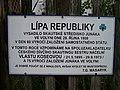Volyně, skautská Lípa republiky, tabulka.jpg