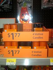 votive candles in the halloween section of walmart - True Meaning Of Halloween Christian