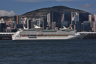 MS Voyager of the Seas - Image: Voyager of the Seas in Hong Kong (02 08 2015)