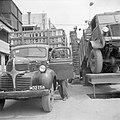 Vrachtwagens voor het transport van citrusfruit bij de citrussapfabriek Assis aa, Bestanddeelnr 255-1246.jpg