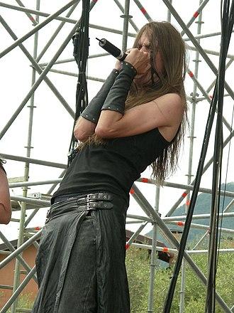 Mathias Lillmåns - Vreth with Finntroll in 2006