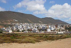 Sidi Ifni - town view