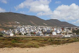 Sidi Ifni City in Guelmim-Oued Noun, Morocco