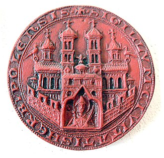 Würzburg - Impression of the city seal of 1319