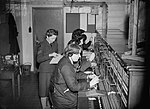 WAAF telephone operators at work at No. 11 Group HQ at Uxbridge in Middlesex, 1942. CH7705.jpg