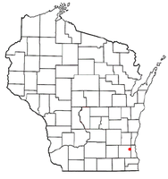 Location of Elm Grove, Wisconsin