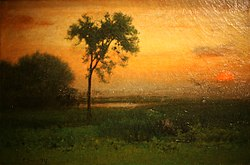 George Inness: Sunrise