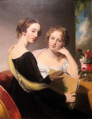 Portrait of the Misses Mary and Emily McEuen
