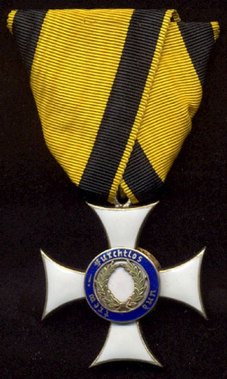 Military Merit Order (Württemberg) - Knight's Cross, obverse