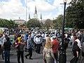 WWOZ 30th Birthday Parade Cathedral Sousaphone.JPG