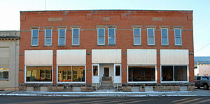 National Register of Historic Places listings in Haakon County, South Dakota - Image: Waddell Block