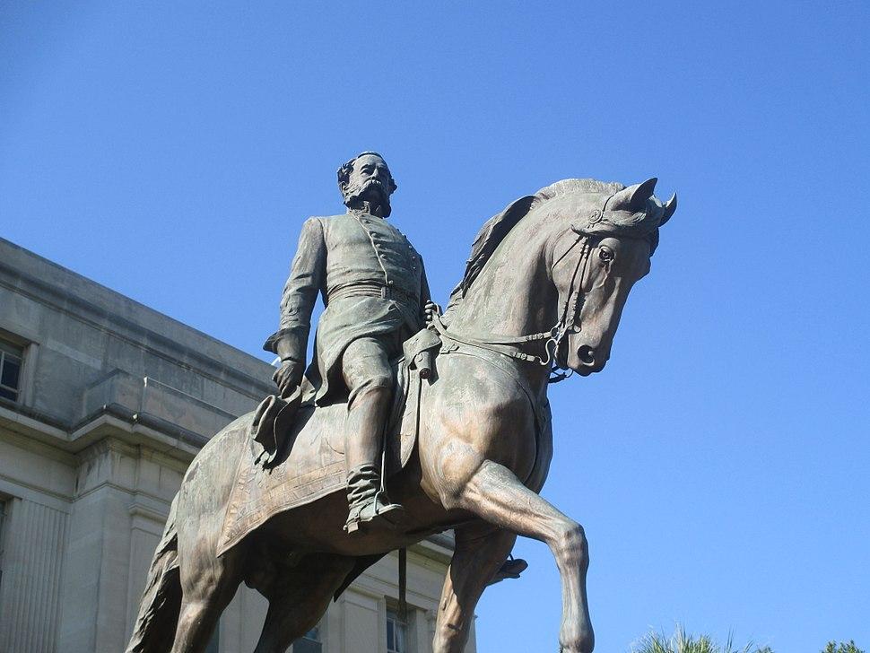 Wade Hampton equestrian statue, Columbia, SC IMG 4747