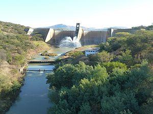Bushman's River - Bushman's River at Wagendrift Dam