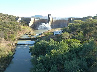 Bushman's River - Bushman's River at Wagendrift Dam