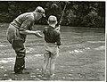 Waihaha River angling (1955).jpg
