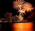 Waikiki Hilton Fireworks (4607532157).jpg