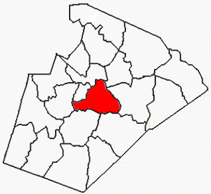 Raleigh Township, Wake County, North Carolina - Image: Wake County NC Raleigh Township