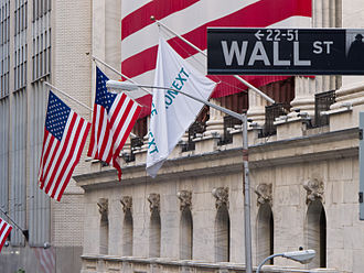 Finance - Image: Wall Street New York Stock Exchange