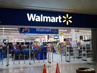 Walmart Canada - Former Zellers store in Gloucester in Ottawa, ON in February 2013