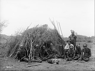 Arrarnte elders, Alice Springs, 1896. Via Wikimedia commons.