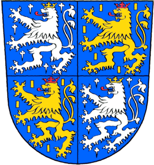 Philipp I, Count of Nassau-Weilburg - Coat of arms of Nassau-Saarbrücken
