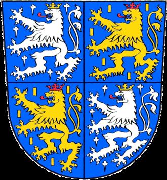 Philipp I, Count of Nassau-Weilburg - Coat of arms of Nassau-Saarbrücken