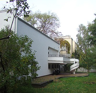 Tourist attractions in Warsaw - House of Łepkowski, an example of pre-war house designed by Lucjan Korngold
