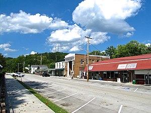 Wartburg, Tennessee - Kingston Street in Wartburg