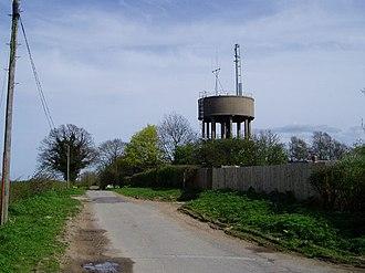 Askham Bryan - Image: Water Tower near Askham Bryan geograph.org.uk 187994
