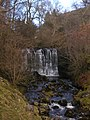 Waterfall on Hebden Beck - geograph.org.uk - 1720833.jpg