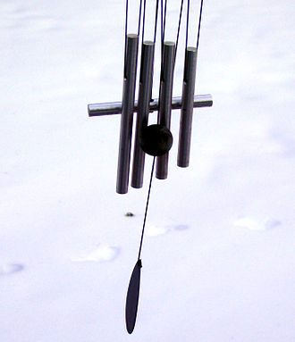 Wind chime - A metal wind chime