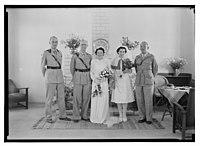 Wedding, Mr. Paton & Sister Sloan, June 23, '43 LOC matpc.14258.jpg