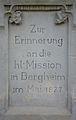 Wegekreuz Füssenich,-Neusser Str.; Denkmal-Nr.62, Bergheim, Inschrift.jpg