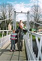 Weight-test of the footbridge over the River Ness. - geograph.org.uk - 263618.jpg
