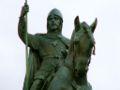 Wenceslaus I Duke of Bohemia equestrian statue in Prague 2.jpg