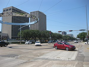 Westheimer Road -  Westheimer Road at Post Oak in Uptown Houston