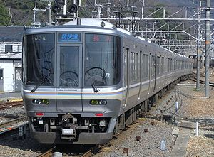 West Japan Railway Company - Image: West Japan Railway Company Type 223 2