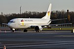 West Atlantic UK, G-NPTZ, Boeing 737-436 (44888064055).jpg