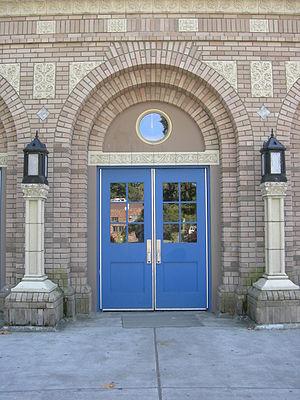 West Seattle High School - Historic Entry Door