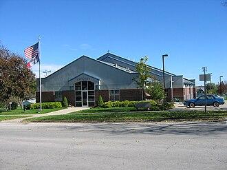 West Union, Iowa - West Union Heiserman Library