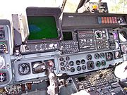 Cockpit of a Lynx of the German Navy