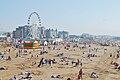Weston-super-Mare beach from the Pier.jpg